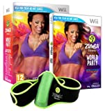 NINTENDO GIOCO ZUMBA WORLD PARTY + CINTURA WII