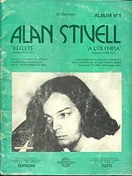 Alan Stivell. Paroles et partitions pour orgue ou piano 12 chansons. Reflets (Fontana 6312.011) & A. S. à l\'Olympia (Fontana 6399.005)