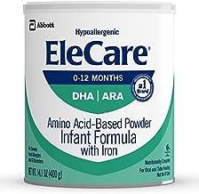 EleCare Infant DHA Baby Formula-Powder-14.1 Ounces-6 Pack