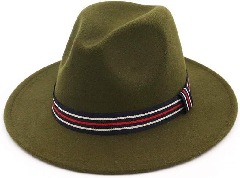 Retro Max 71% OFF Men Houston Mall Women Fedora Hat with Satin Cas Travel Striped Outdoor
