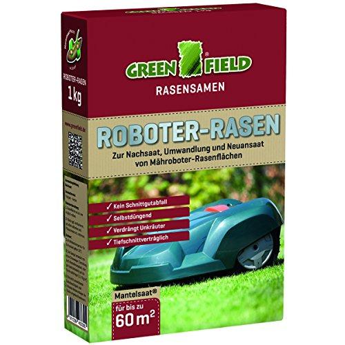 Greenfield Roboter-Rasensamen, 1 kg, Vert