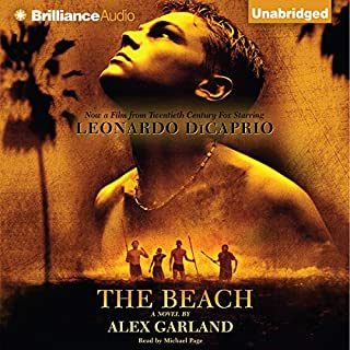 The Beach audiobook cover art