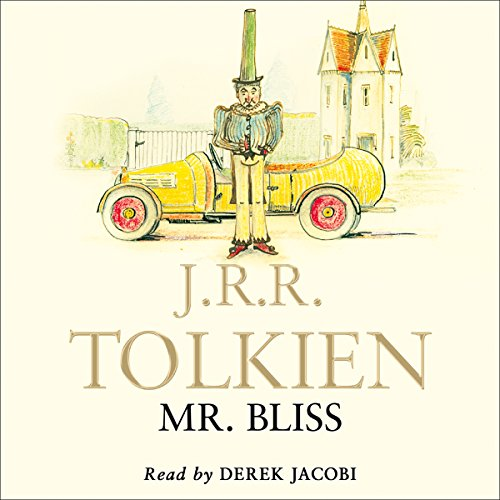 Mr Bliss audiobook cover art