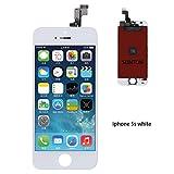 SUNTON écran LCD Assemblée Compatible pour iPhone 5S Blanc Remplacement Kit de...