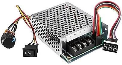 12V 24V 36V 48V 60A Stepless DC Motor Speed Controller Forward Reverse Controller Digital Display Governor Switch Metal Shell Case