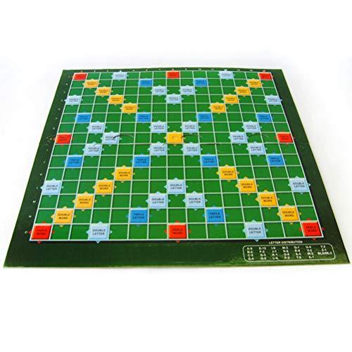 Mlamat Kinderen Puzzels Bordspelling Scrabble Bordspel Tafel Kruiswoordraadsel Spelspel Puzzels Speelgoed Woordspel