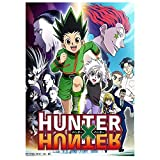 Chef Vinny Anime Hunter X Hunter Group Poster Wall Scroll Hanging Paintings Art Print Painting Wall Scroll Poster(S-2030cm)