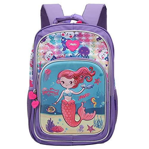 Sac à dos étudiant, sac à dos à double épaule sac d'école élégant sac à dos paillettes étudiants paillettes pour sac à crayons pour ordinateur portable(Mauve)