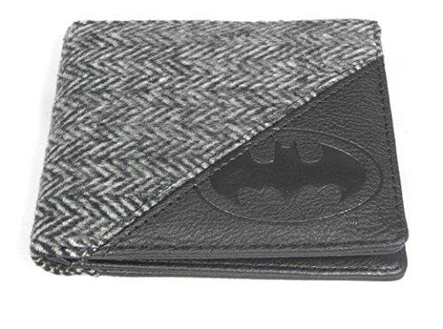 Officiellement sous licence DC Comics en relief Batman Logo Bi-Fold Wallet