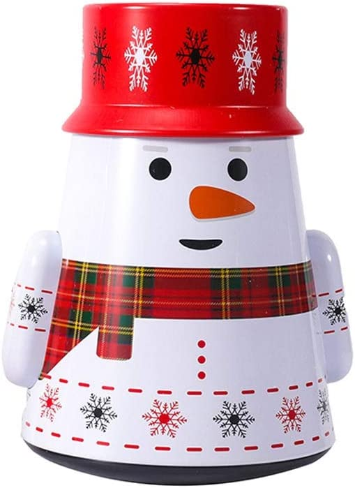 ZCX Box Santa Today's only Candy Jar Christmas Special price for a limited time Tumbler Orname Decorations