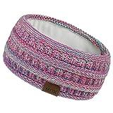 TWIFER Womens Winter Ear Warmer Headband - Sport Hairband Knit Headbands for Women, Soft Stretchy...