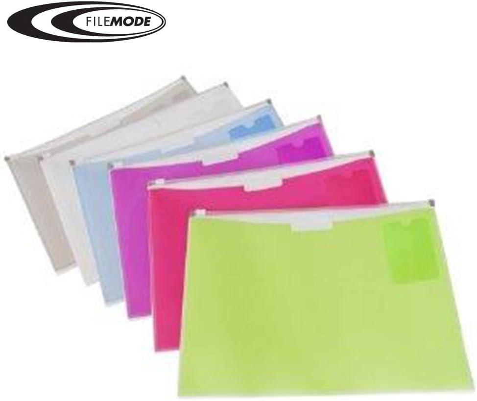 Filemode Fashion Zip Letter Size Reservation Pocket Envelope Pac El Paso Mall 2 AE90570