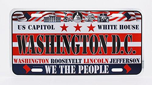 Dimension 9 Home Decorative Plate, Washington D.C.