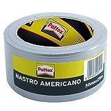 Pattex Nastro Adesivo Americano, per Riparazioni o Decorazioni, Impermeabile per Tubature, Scarichi e Condotti, 1 Rotolo da 50 mm x 5 m