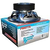 PYRAMID PW677X subwoofer 6.5' 16.50 cm 165 mm 150 vatios rms 300 vatios máx Bobina Simple de 4 ohmios suspensión de Goma para automóvil, 1 Pieza
