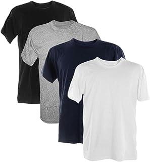 Kit 4 Camisetas 100% Algodão 30.1 Penteadas