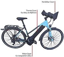 NC-17 Connect E-bike accu beschermhoes standaard voor accu in onderbuis/batterij-thermo-cover/neopreen/zwart