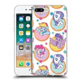 Official My Little Pony Donut and Stars Candy Clash Soft Gel Case Compatible for iPhone 7 Plus/iPhone 8 Plus