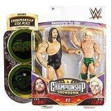 WWE Serie Campeonato Pack 2 figuras El Gigante y Ric Flair, muñecos articulados de juguete con accesorios (Mattel GVJ18)