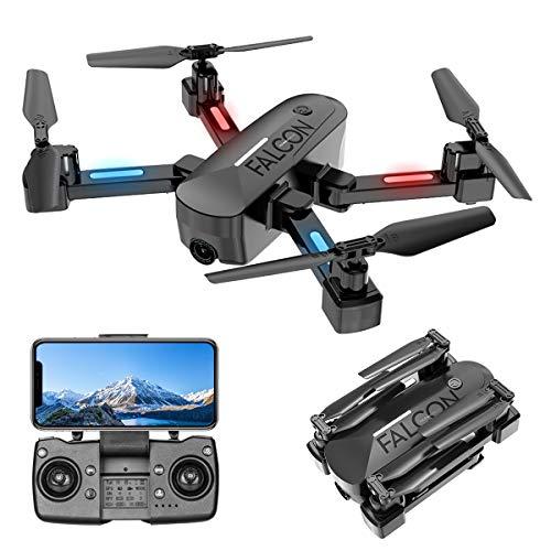 Drone con Telecamera, Drone GPS con Funzione di Calibrazione Automatica, 4K HD 5G FPV, Quadricottero con Telecomando Ricaricabile, Tempo di Volo 15 Minuti, modalità per Principianti ( 2020 Nuovo)