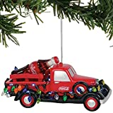 Department 56 Coca-Cola Delivery Truck Lit Hanging Ornament, 2.5 Inch, Multicolor