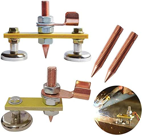 QISF 6 Attention brand Pcs Magnetic Head Clamp Overseas parallel import regular item Welding Ground