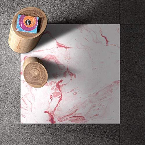 Leileixiao Agotamiento de Vinilo Plano PVC 3D Piso 3D Azulejos Adhesivos Pegatinas Impermeable para baño y Cocina (Color : D, Size : 30x30cmx 8pcs)