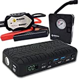 25 Best Portable Jump Starter and Air Compressors