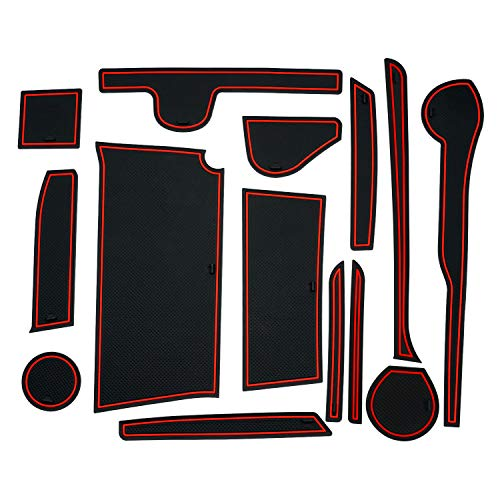 Auto Spec ダイハツ 新型タント/タントカスタム ドアポケットマット インテリアラバーマット Tanto LA650S/LA660S型 H31.7- 汚れ防止 ゴムマット コンソールマット 内装パーツ アクセサリー ドレスアップ 滑り止めマット 全