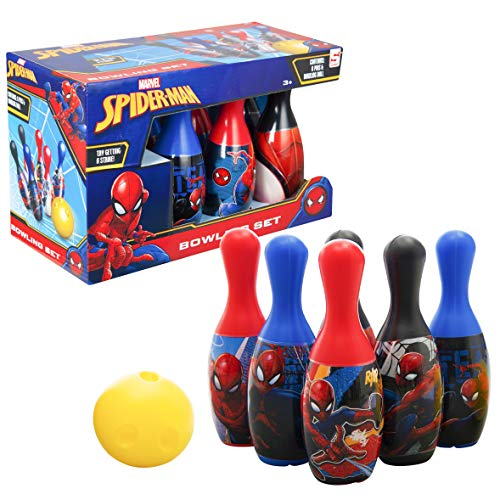 Sambro Bowling Set Spiderman