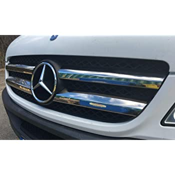 2014-2018 SPRINTER W906 Stainless Steel Chrome Front Grill Set 7 Pieces