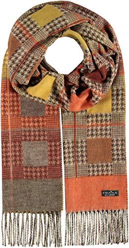 Preisvergleich Produktbild FRAAS Cashmink®-Schal kariert - Made in Germany für Damen Orange