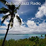 Tranquil Music for Eating Out - Tenor Saxophone and Jazz Guitar