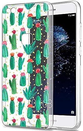 Eouine Cover Huawei P9 Lite, Ultra Slim Cover Trasparente con Disegni, Morbido Antiurto 3d Cartoon Gel Bumper Case Custodia in TPU Silicone per Huawei ...