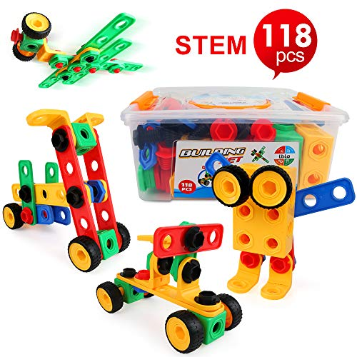 LBLA Take Apart Toy for 4 Year Olds Boys Girls,Construction Toys for3 4 5 6 7 8 9 Year Old ,Gifts for Kids,Building Block Toys for Kids Children,Educational Creative toys, Learning Toys