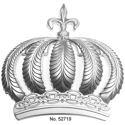 Harald Glööckler Tapeten Krone Wand-Deko 52719 Silber