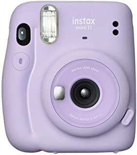 Fujifilm Automatic Flash Mini 11 Photo Camera, Lilac Purple (87015)