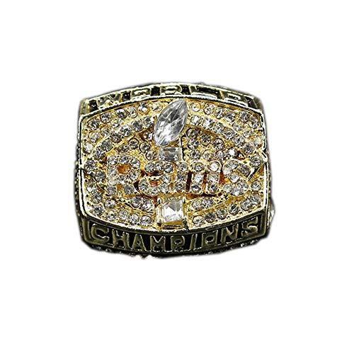 Fei Fei Rugby 1999 Los Angeles RAMS Championship Ring Campeonato Anillos,Campeones Anillo de réplica para Aficionados de los Hombres de la colección del Regalo,with Box,11#