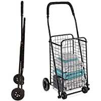 DMI Compact and Foldable Rolling Utility and Shopping Cart