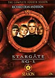 Stargate SG-1 Complete 4th Fourth Season 4 Four DVD NEW Sealed Free Shipping