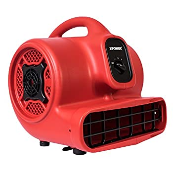 XPOWER P-430 1/3 HP Air Mover: photo