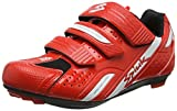 Spiuk Rodda Route - Chaussures Unisexes, Couleur Rouge/Blanc, Taille 37