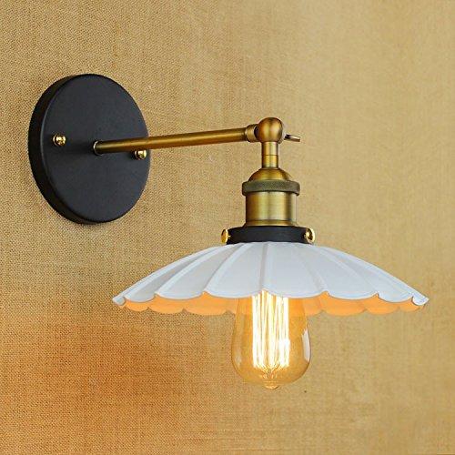 Lampe de mur en fer forgé en fer forgé simple allée personnalité