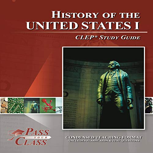 History of the United States I: CLEP Study Guide, Part 1 cover art