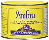 Ambrosoli 3369005 Cera Ambra per Legno Solida Gialla...