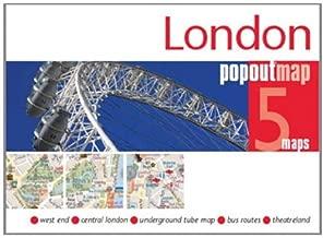 London PopOut Map (Popout Maps) by Popout Maps (2011-09-16)