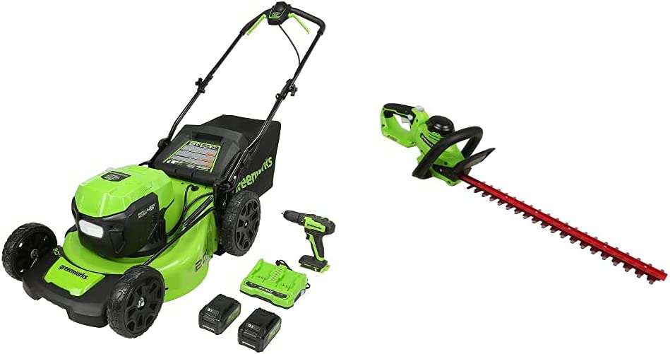 Greenworks 48V 2 Deluxe x 24V 20