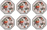 Johnson Bros–fruta fresca, juego de 6platos llanos de 27cm (segundo calidad) *