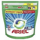 Ariel Detergente Cápsula Alpine 3 en 1, caja de 50 cápsulas, 1260 g