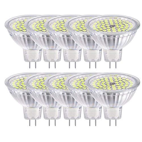 MR16 GU5.3 LED Lampen Lampe Natur Tageslicht Weiß AC DC 12 V 5 Watt Ersetzen 50 Watt Halogenlampe GU5.3 LED Spot Glühbirnen 4000 Karat 120 °Abstrahlwinkel Helligkeit Nicht Regelbar 10